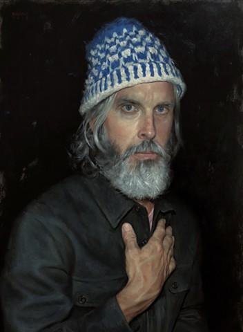 Self Portrait in Knit Cap