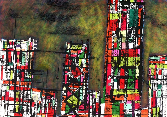 abstract cityscape 2