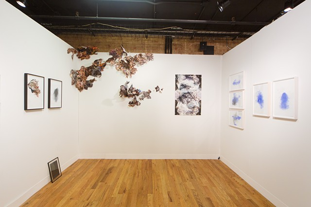 View of Volta booth #1.12 March 6-9, 2014 Soho, NY