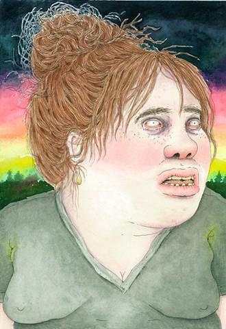 Yaddo Self Portrait