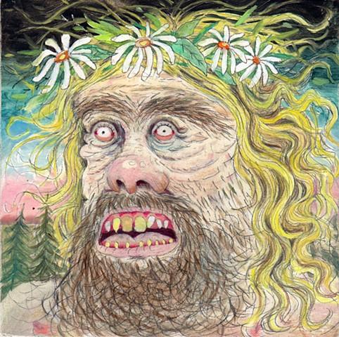 Hippie Mountain Man