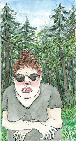 Yaddo Self Portrait