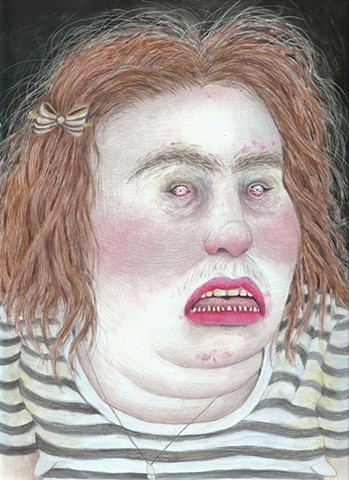Self-Portrait as Prisoner