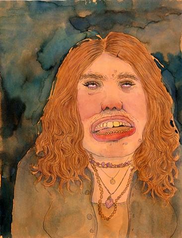 Blaze Orange Self Portrait