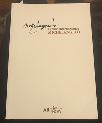 Michelangelo Award catalog cover