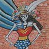 Wonder Woman as Catrina