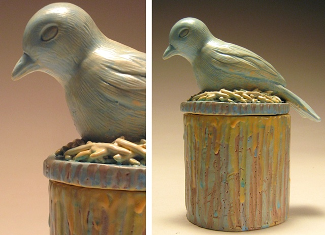 Bird Vessel (with eggs inside).