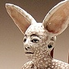 Seated Rabbit figure.