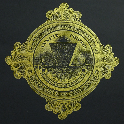 THE GREAT SEAL OF THE NEW WORLD ORDER MAX HELLER X ART