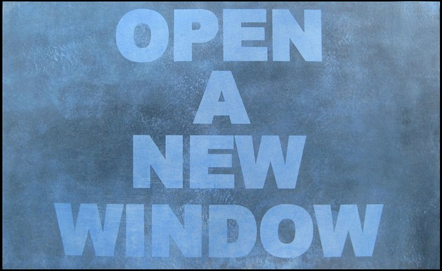 OPEN A NEW WINDOW MAX HELLER X ART