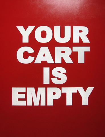 YOUR CART IS EMPTY MAX HELLER X ART