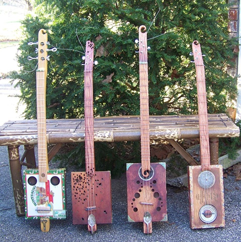 More Shanty Box Guitars