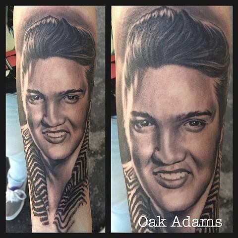 Elvis on Sammie