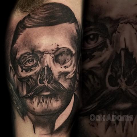 Doc Holliday Skull