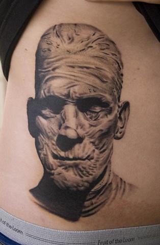 Boris Karloff Mummy Oak Adams