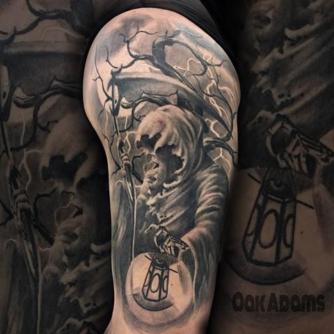 grim reaper tattoo 26