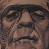 "Boris Karloff as ""Frankenstein""  Tattoo by Oak Adams"