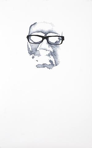 Wes Acrylic on Yupo 32' x 20' 2009  AVAILABLE