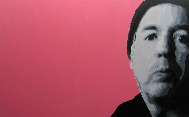 "Doug Acrylic on canvas 30"" x 48"" 2006  SOLD"