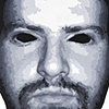 "Alan Acrylic on Yupo  22"" x 30"" 2009  SOLD"