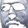 "Chris Acrylic on Yupo  20"" x 26"" 2009  SOLD"