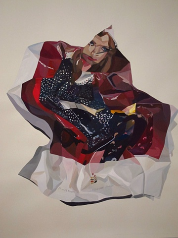 Orla Kiely, Nora Mulheren, painting