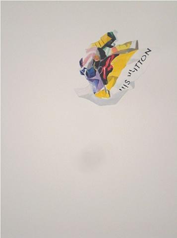 louis vuitton counterfeit eva herzagova nora mulheren painting advertisement