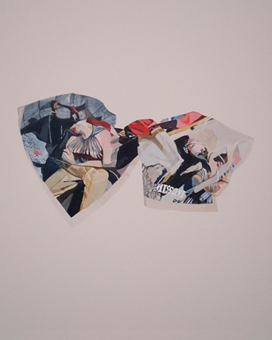 missoni bow accessory nora mulheren fashion chevron advertisement painting