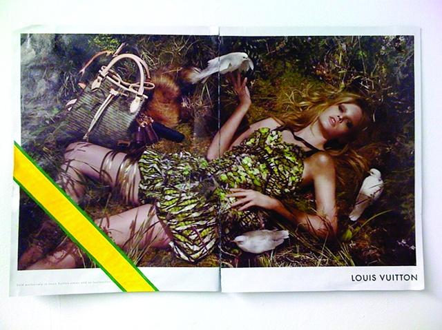 personalized louis vuitton advertisement counterfeit fashion nora mulheren painting
