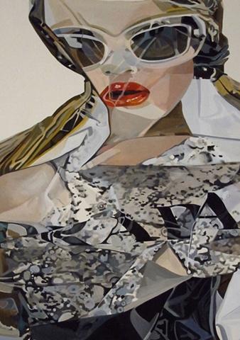 Nora Mulheren, Prada, 2010 ad campaign