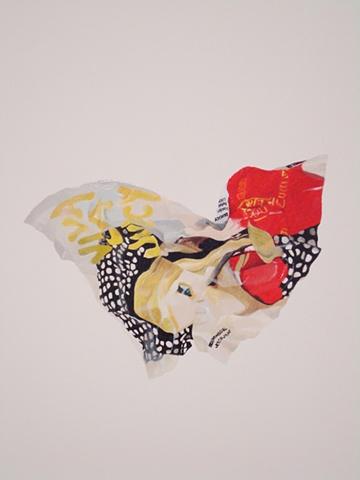 juicy couture viva la juicy advertisement crumple nora mulheren painting