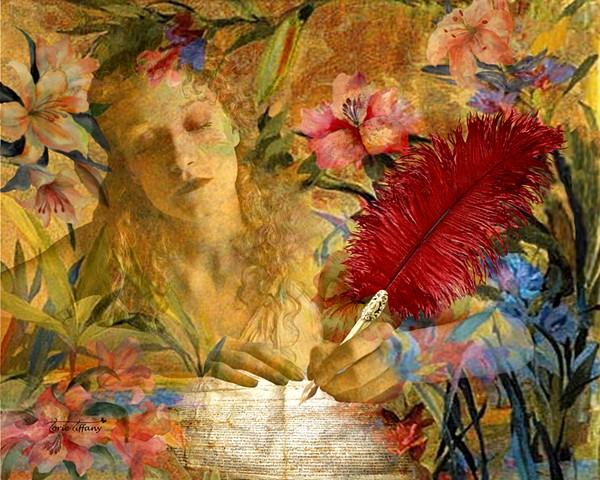 fine art, Ancient Spirits art, nature art, Calliope art, goddess art, photographic art, spiritual art, digital art, unique art, digital painting