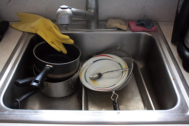 Sink's Full Of Dishes