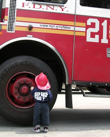 21 Truck Mini Firefighter