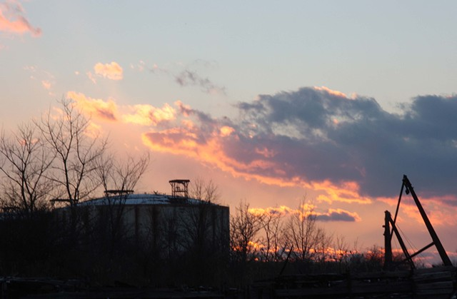 Sunset Over Rossville