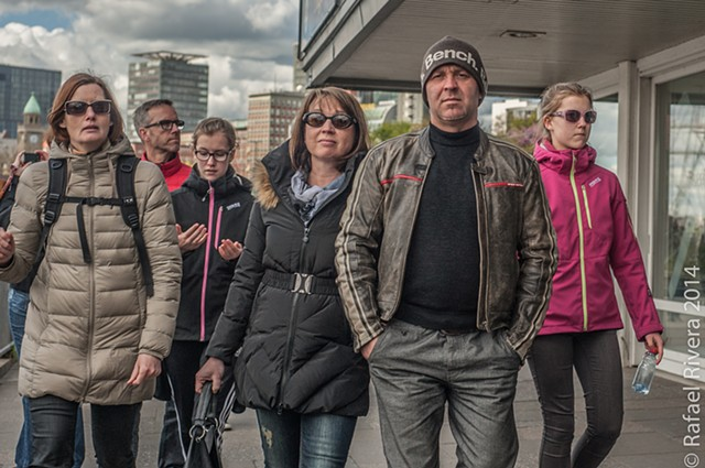People of Hamburg, Germany