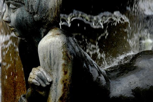 Statue Near Wittenbergplatz-Tarkan ~ Berlin
