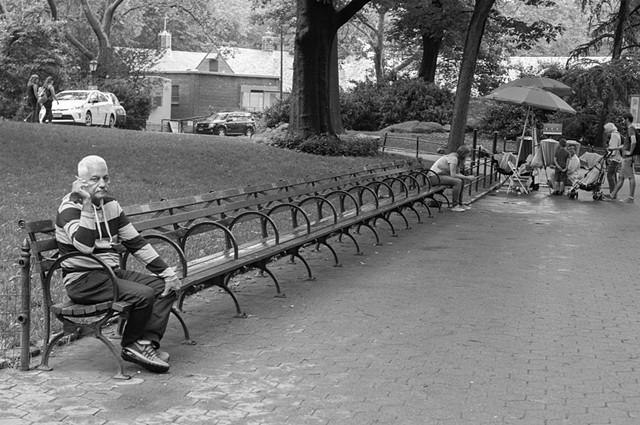 Smoker - Central Park
