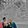 Couple @ Stachus-Karlsplatz ~ Munich