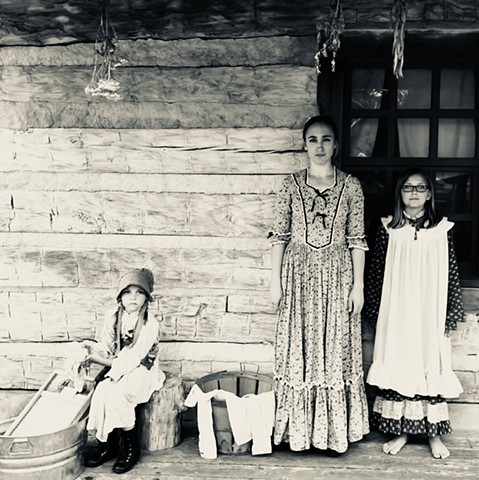 Living History in Verges Park  Summer 2018 Elkhorn Valley Museum, Norfolk, NE
