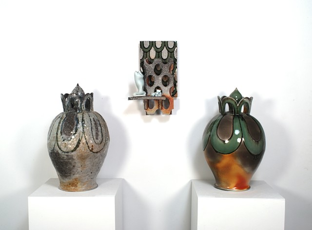 Newer Ceramic Sculpture and Vessels