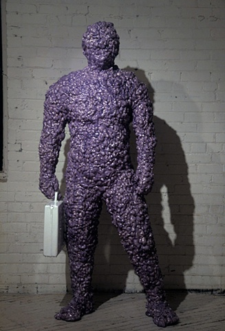 What Are You Looking At? (Purple Man)