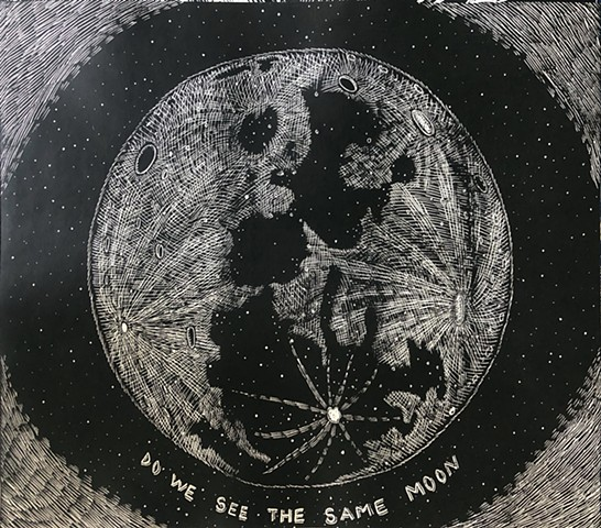 Do We See The Same Moon (Black)
