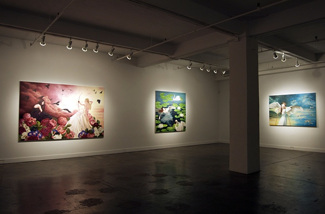 Leda's Daughter installation view  hpgrp GALLERY NEW YORK