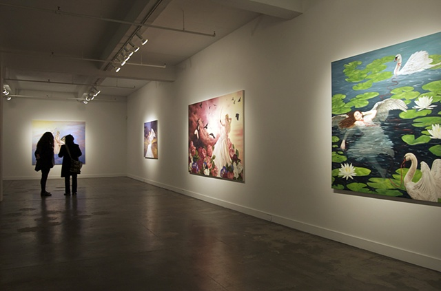 Leda's Daughter installation view 3  hpgrp GALLERY NEW YORK  February 2 - March 3