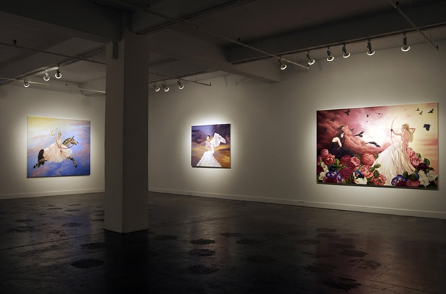 Leda's Daughter installation view 4  hpgrp GALLERY NEW YORK