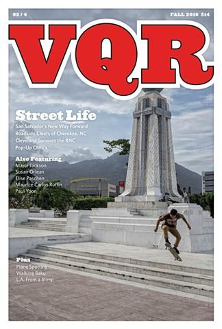 Virginia Quarterly Review Fall, 2016 92/4