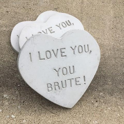 Valentines for Brutalism (I love you, You Brute!)