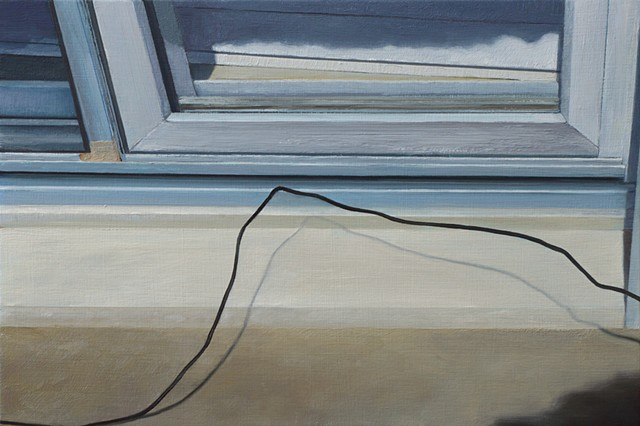 untitled (window and grounding wire)