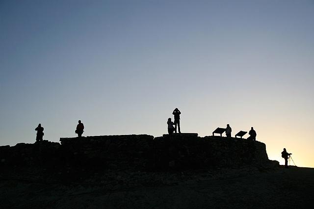 Waiting for the Sun 1, Zabriskie Point, Death Valley, CA